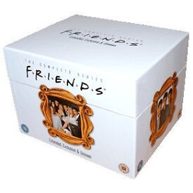 Complete DVD series of Friends 1 to 10 Extended, Exclusive & Unseen