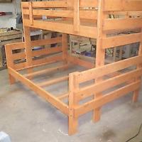 Custom made bunk beds