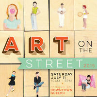 Art in the Shops and the 13th Annual Art on the Street