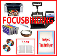 Mug/Cup Heat Press,Epson C88,Refil,Sublimation Ink Heat Transfer