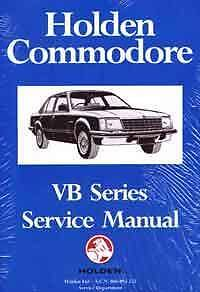 Holden Commodore VB Series 1978 - 1980 Factory Service Manual Hazelbrook Blue Mountains Preview