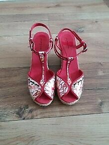 You Young Coveri wedge sandals size 6 (eur 39)