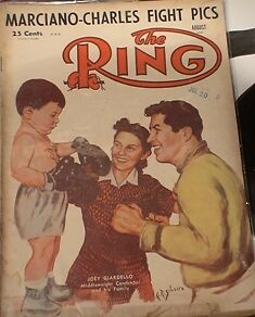 BOXING MAGAZINE. RING MAGS ETC.1950'S TO 80'S Belleville Belleville Area image 4