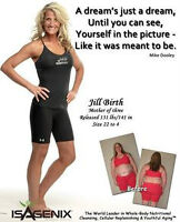 Shed fat and gain lean muscle with Isagenix! $200-350/mth