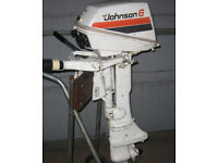 Johnson Seahorse 6hp outboard motor/engine