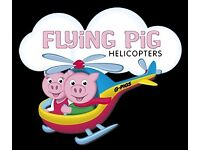 Marketing and Website Coordinator required for family run Helicopter Flying School