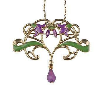 Art Nouveau Jewellery Ebay