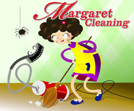 Margaret Cleaning - regular, fortnightly cleaning, end of tenancy, or one off clean.