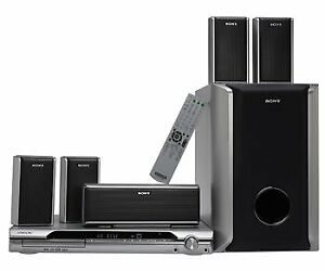 Sony DAV-DZ120 - Home Theater System - 5.1 channel
