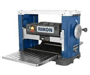 "13"" Benchtop planer with helical style cutter - Rikon 25-130H"