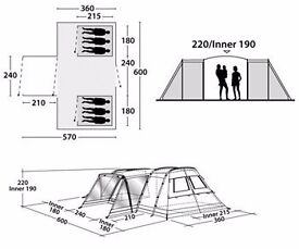 Outwell Idaho Tent L