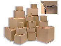 Cardboard boxes X25