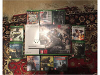 XBOX ONE S 1TB + 11 GAMES BUNDLE - VERY GOOD CONDITION!