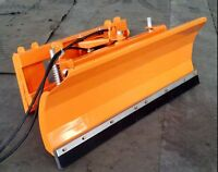 Skid Steer Dozer Blade/Snow Pusher with FREE shipping
