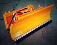"""86"""" and 96"""" Hydraulic Snow blade for Skid Steer"""