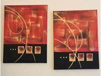 Ready to hang/abstract art