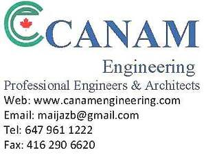 CANAM ENGINEERING INC.  Architectural, STRUC Engg.  SERVICES