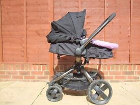 Mothercare Spin Pram and Pushchair– excellent condition – hardly used