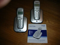 BT Studio 4100 cordless phones. (2)