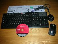 Labtec media wireless desktop keyboard/mouse