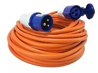 Mains Hook Up Cable 25m Heavy Duty New Unused