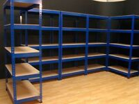 GARAGE SHOP SHED SHELVING !!! FREE FAST DELIVERY container office racking storage shelves metal