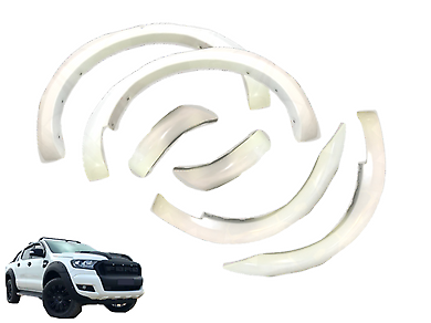 Ford ranger px 2018 chrome ute roll bar also mazda bt50 auto px 1 px 2 ford ranger flares white set of 4 2012 2018 mo fandeluxe Images