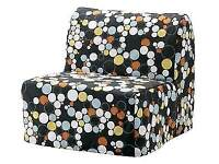 IKEA Lycksele Chair Bed (single sofa bed) Frame + Mattress + Cover