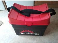 JOB LOT sundridge seat box Fishing gear rod and reel