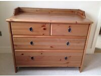 Ikea Leksvik small chest or drawers/changing table