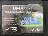 Vango Diablo 600 - INNER TENT ONLY (used)