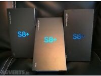 FREE FREE XMAS GIFT WIV SAMSUNG GALAXY S8+ Plus UNLOCKED BRAND NEW BOXED TWO YEAR SAMSUNG WARRANTY