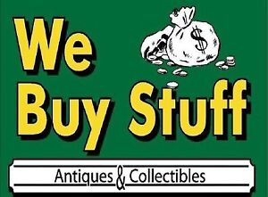 Buying antiques collectibles music instruments toys electronics