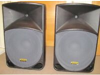 2 x TH-15A Active Loudspeaker's, great condition, Boxed!