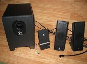 Speakers Logitech Subwoofer (high quality)