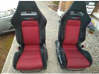 Fn2 type r seats