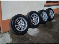 15IN FORD FOCUS MK1 ORIGINAL GHIA/LX ALLOY WHEELS WITH TYRES £70ono
