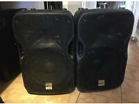 A PAIR OF ALTO TS115A SPEAKERS