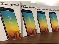 SAMSUNG GALAXY j7 PRIME2 2018 BRAND NEW BOXED