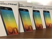 SAMSUNG GALAXY j7 PRIME2 2018 BRAND NEW BOXED