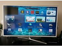 smart white samsung 40 inch 3D full hd led tv+built in apps+remote+3d glasses+DELIVERY