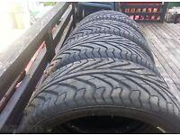 """225/40/17 Technic tyres (x4) New 17"""" low profile"""
