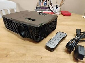 1080P 3000 Lum Optoma HD142X Projector Barely Used! + Free Mount