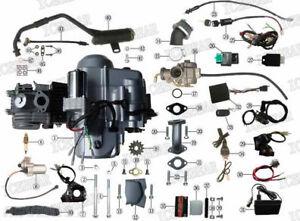 Chinese atv and dirt bike parts