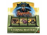 MAGIC THE GATHERING ETERNAL MASTERS BOOSTER BOX - NEW SEALED