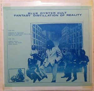 Blue Oyster Cult Vinyl : Fantasy Distillation of Reality