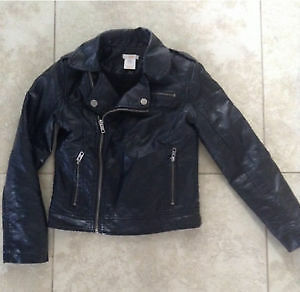 Joe Fresh Girls moto Jacket ,Size 8 London Ontario image 1