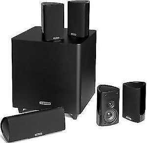 Polk Audio RM705 5.1 Surround Sound Home Audio Speaker System