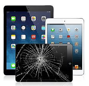 iPad Repair Screen, LED, iCloud, Charging port. homebutton