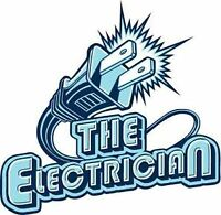 Journeyman electrician for all electric needs,$35/hr 7808844487
